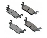 Premium Low Dust Brake Pads PACT1120