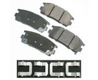 Premium Low Dust Brake Pads PACT1275