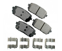 Premium Low Dust Brake Pads PACT1296