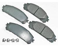 Premium Low Dust Brake Pads PACT1324