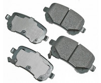 Premium Low Dust Brake Pads PACT1326