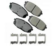 Premium Low Dust Brake Pads PACT1397