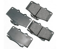 Premium Low Dust Brake Pads PACT436