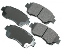Premium Low Dust Brake Pads PACT476