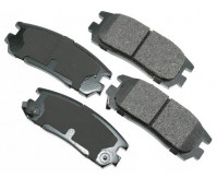Premium Low Dust Brake Pads PACT580