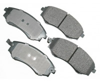 Premium Low Dust Brake Pads PACT700