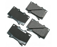 Premium Low Dust Brake Pads PACT772