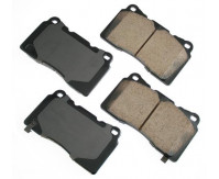 Premium Performance Low Dust Brake Pads PASP1001