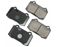 Premium Low Dust Brake Pads PEUR592