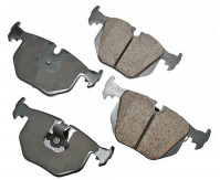 Premium Low Dust Brake Pads (Pad Wear Sensor Required) PEUR683