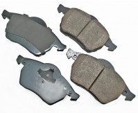Premium Low Dust Brake Pads PEUR687A
