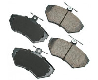 Premium Low Dust Brake Pads PEUR704