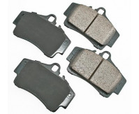 Premium Low Dust Brake Pads PEUR738