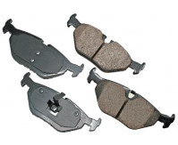 Premium Low Dust Brake Pads (Pad Wear Sensor Required) PEUR763
