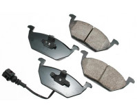 Premium Low Dust Brake Pads (Includes Pad Wear Sensor) PEUR768A