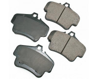 Premium Low Dust Brake Pads PEUR776