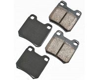 Premium Low Dust Brake Pads PEUR811