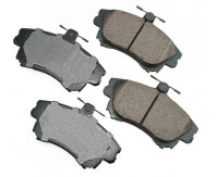 Premium Low Dust Brake Pads PEUR837