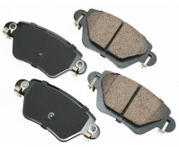 Premium Low Dust Brake Pads PEUR911