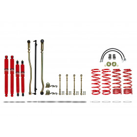 """Pedders 4"""" Lift Kit Y61 Coil F&R Non ABS (Excl ZD30) 02/2000 -on 919027-3"""