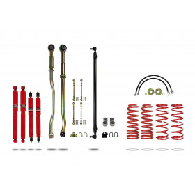 """Pedders 4"""" Lift Kit Y61 Coil F&R ABS (Excl ZD30) 02/2000 -on 919127-2"""